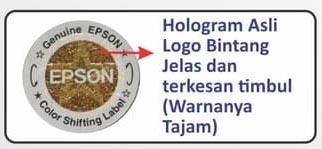hologram epson asli