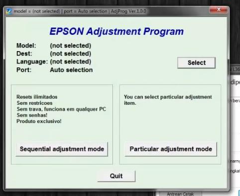 Cara reset printer epson l360,l120,l310,l210,l220 berhasil