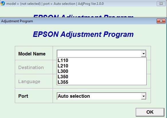 Download Resetter Epson L360 L365 L310 L220 L130 Terbaru Free