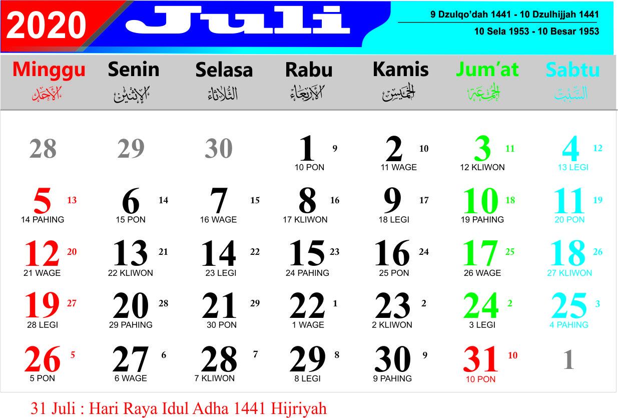 52+ Kalender Jawa Maret 2020 Lengkap