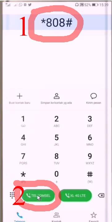 cara cek nomor telkomsel