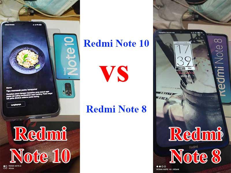redmi note 10 vs redmi note 8