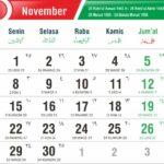 kalender november 2021